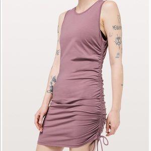Lululemon Athletica  Cinch It Dress in Figue 6